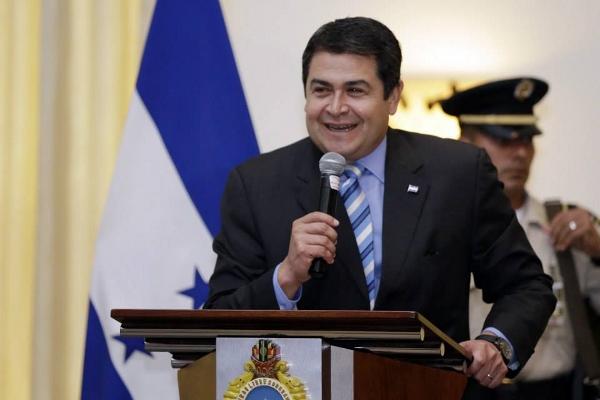 Hernández reafirma compromiso contra la inseguridad, corrupción e impunidad en Honduras