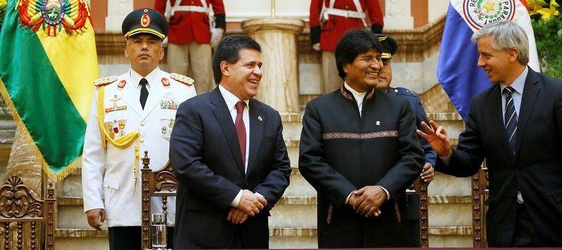 Presidentes de Bolivia y Paraguay se reunirán para fortalecer cooperación