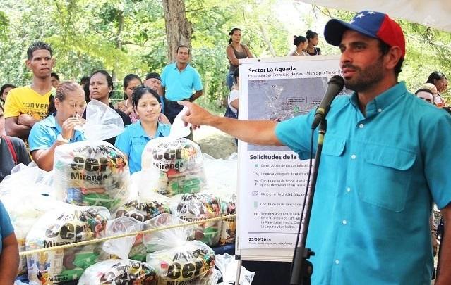 Capriles: Encuestadoras pagadas por el gobierno ya no pueden maquillar los resultados