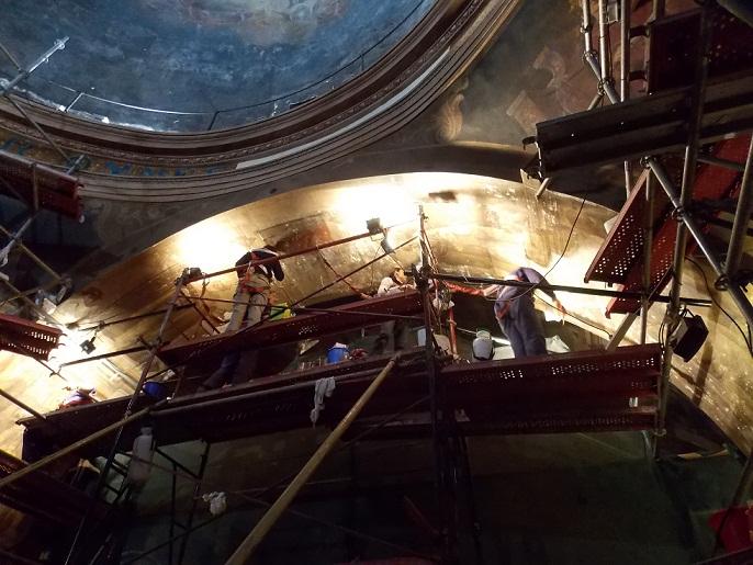Buenos Aires: los secretos de la restauración de la histórica iglesia de San Miguel