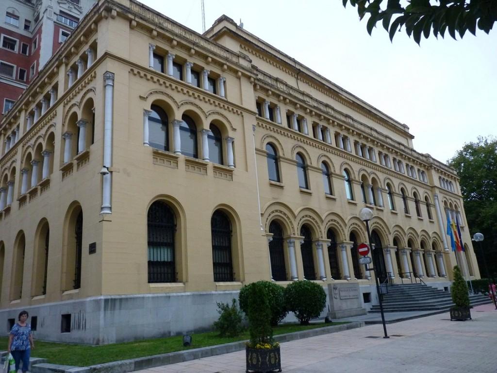 Sede de la presidencia del Gobierno del Principado (Foto: ICN Diario/RV)