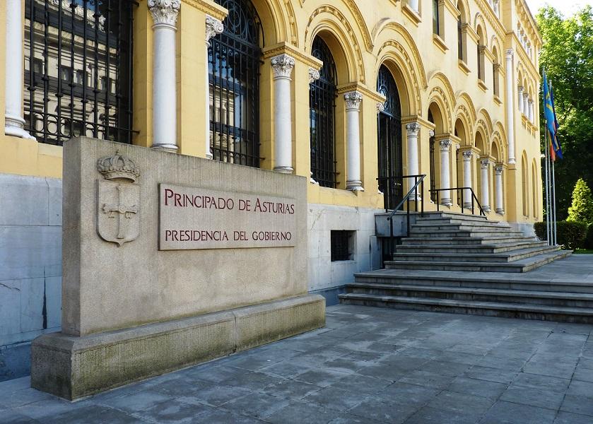 Edificio sede de la Presidencia de Asturias (Foto: ICN Diario/RV)