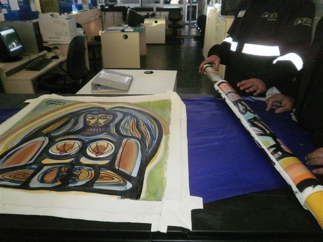 Aduana argentina impide la salida de tres obras del pintor uruguayo Páez Vilaró