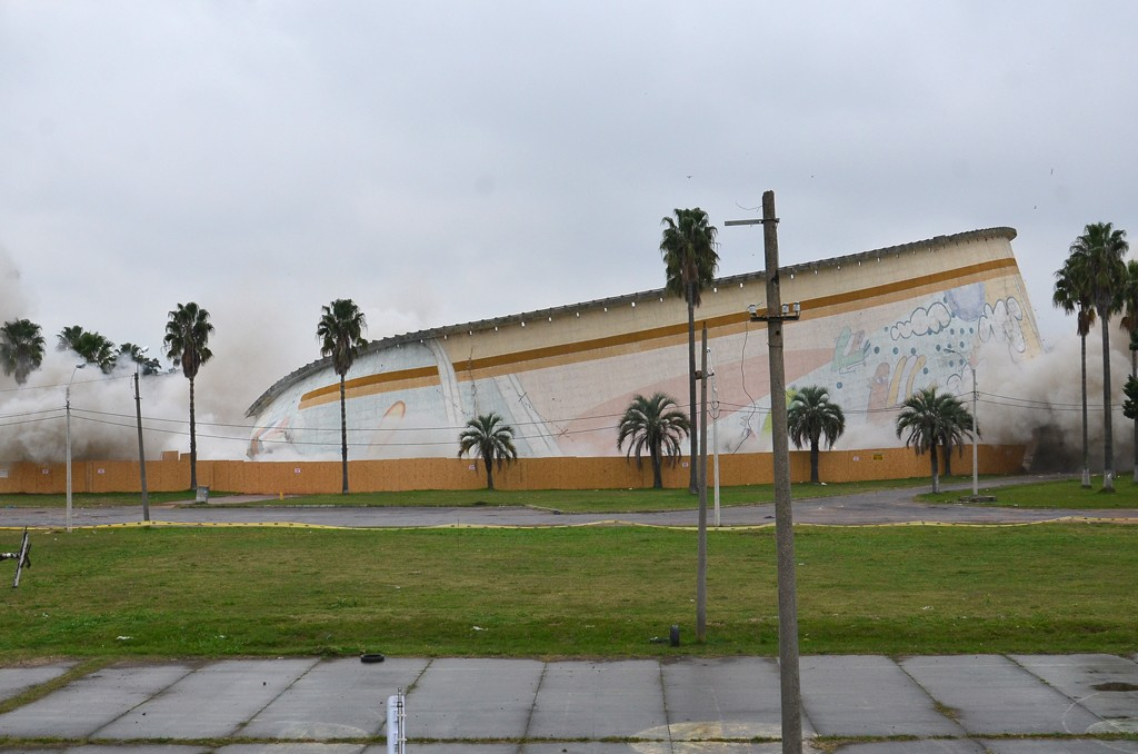 Gobierno uruguayo suspende obras del cuestionado Antel Arena