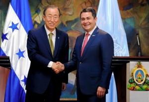 ONU ayudará a Honduras a frenar corrupción