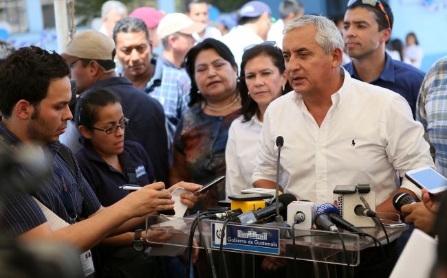 El Congreso evaluará si le quita la inmunidad al presidente de Guatemala