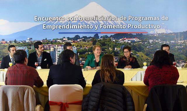"""Chile: """"lo que estamos buscando es apoyar el emprendimiento"""""""
