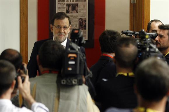 Rajoy: 'Los rupturistas tampoco tienen el apoyo de la mayoría de los catalanes'