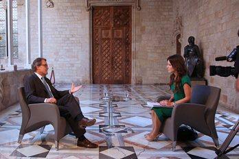 La retórica de Artur Mas: 'es difícil ver un escenario mejor a la independencia'