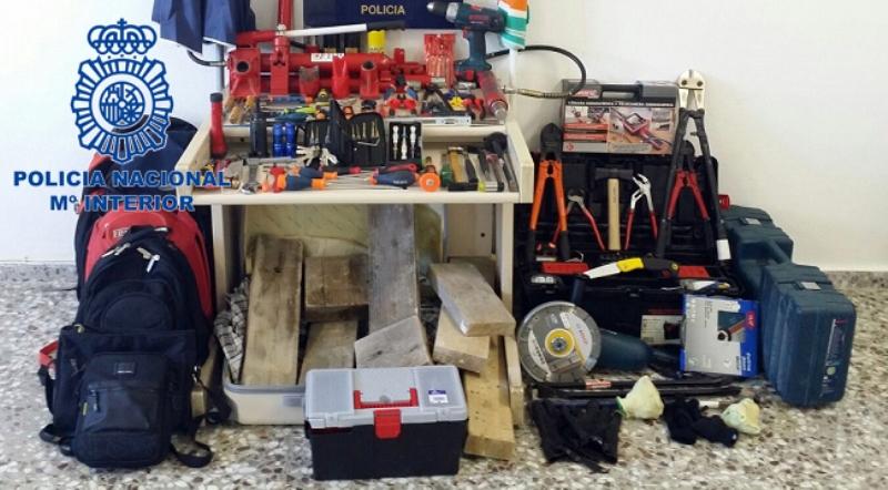 España: cae banda de ladrones integrada por españoles y uruguayos que robaban joyerías