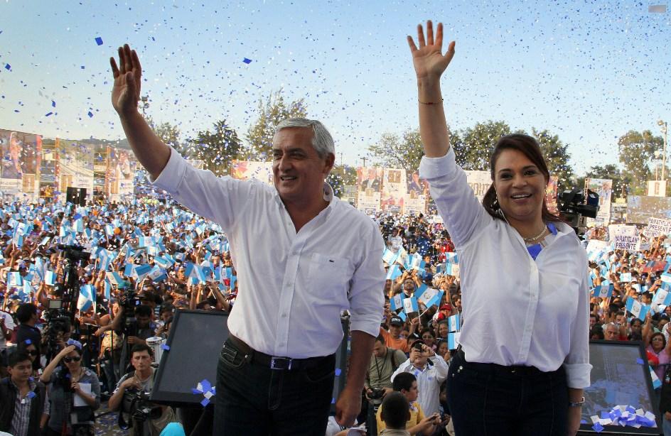 Ex presidente y ex vice de Guatemala recibían el 50% del dinero de la corrupción