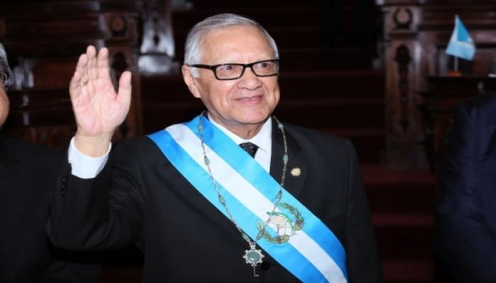 Asume Alejandro Maldonado como nuevo presidente de Guatemala