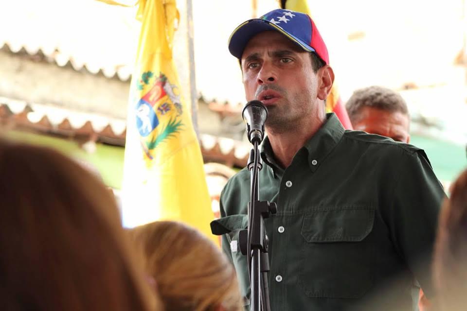 Capriles denuncia que el chavismo tiene secuestrado al Poder Judicial