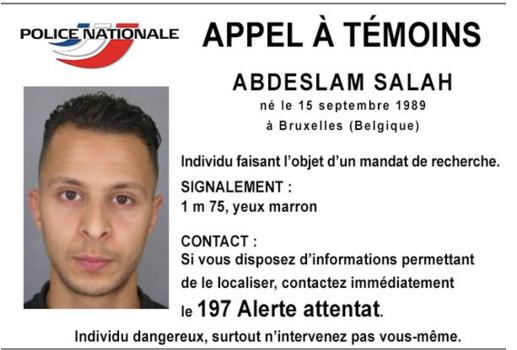 Búsqueda del octavo sospechoso de los atentados; alerta en España