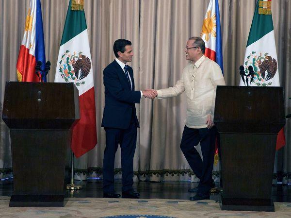 México y Filipinas firman acuerdos en materia económica, turística y de seguridad