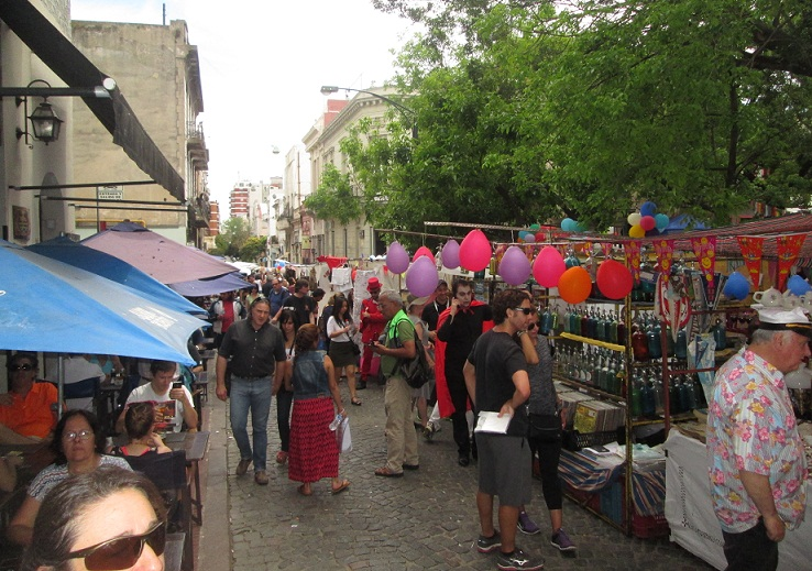 Semana de Buenos Aires: 45 años de la Feria de San Telmo
