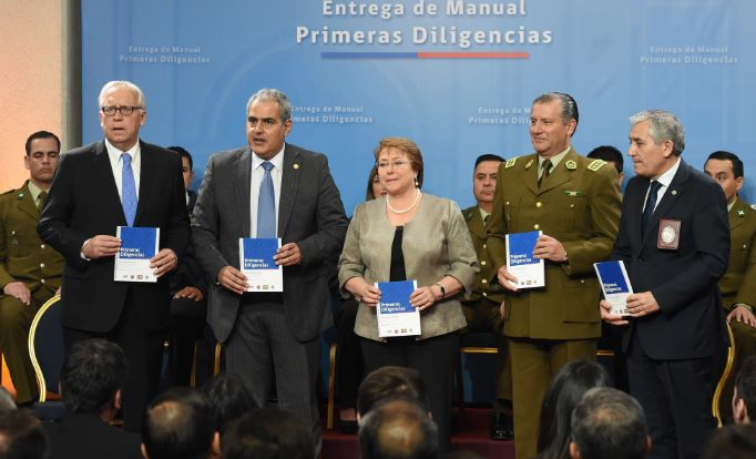 Chile prevé mejorar eficacia en la persecución de delitos de mayor connotación social