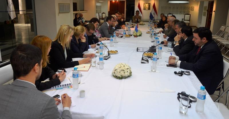 Grupo de Trabajo de la Unión Europea se interioriza de la realidad del Paraguay
