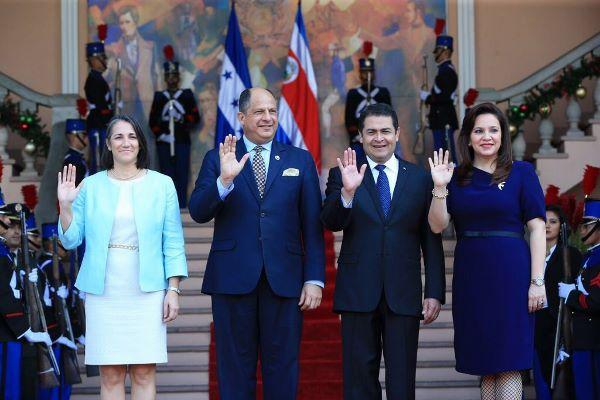 Costa Rica y Honduras comprometen seguir fortaleciendo proceso de integración regional