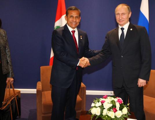 """Perú y Rusia acuerdan impulsar """"asociación estratégica"""""""
