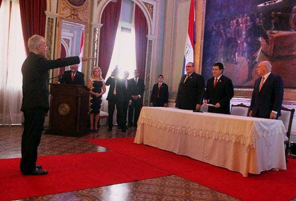Nuevo embajador paraguayo ante Estados Unidos buscará ampliar cooperación