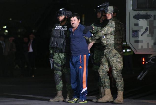 México extraditó en forma sorpresiva a EEUU a 'El Chapo' Guzmán