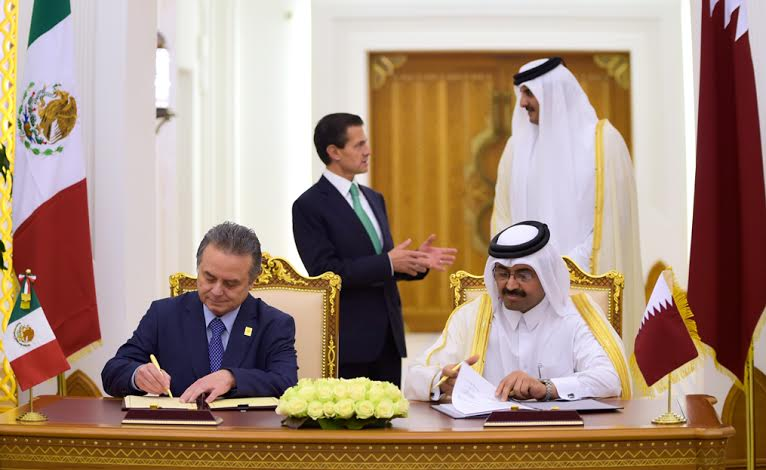 México y Qatar suscriben acuerdos para impulsar desarrollo conjunto