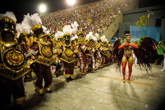 El carnaval de Río en imágenes con todo su esplendor