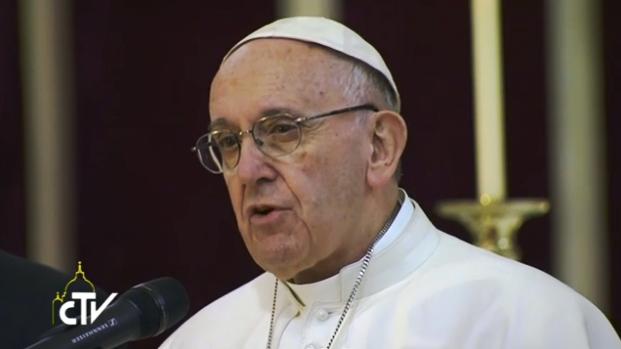 Papa: 'Les ruego por favor no minusvalorar el desafío ético y anti cívico del narcotráfico'