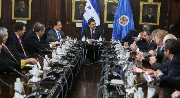OEA y Honduras luchan contra la corrupción