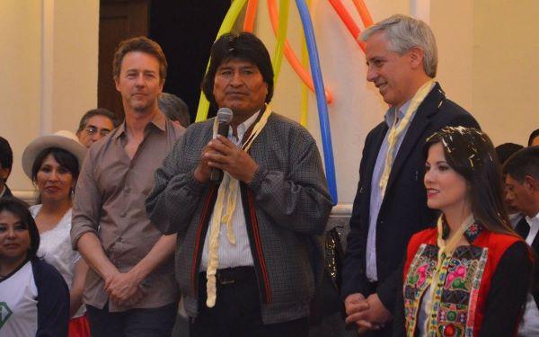 Morales creará empresa de transporte pesado para hacer frente a huelgas del sector