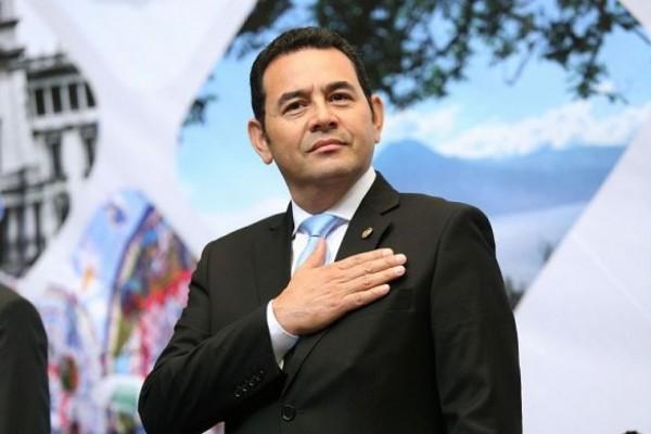 """Morales: """"Guatemala ya no aguanta más la criminalidad"""""""