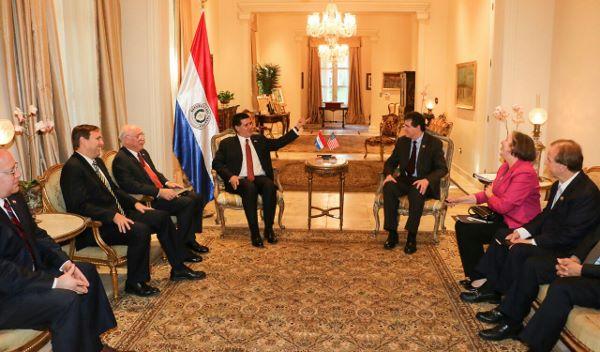 Congresistas norteamericanos destacan compromiso del Paraguay en lucha contra el terrorismo