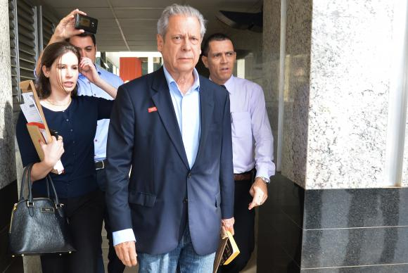 José Dirceu, ex jefe del gabinete de Lula condenado a 23 años de cárcel por el caso Petrobras
