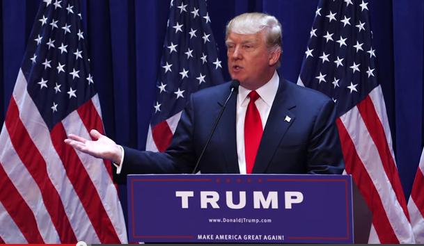 Donald Trump tiene casi asegurada con su racismo e intolerancia, la nominación por los republicanos