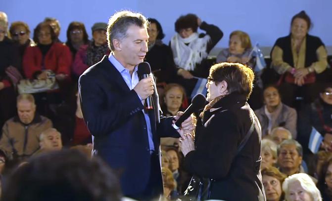 Macri: 'Vamos a terminar con décadas de atropello y estafas a nuestros jubilados'