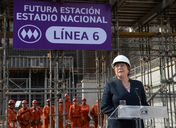 Chile incorpora energías limpias a red de Metro