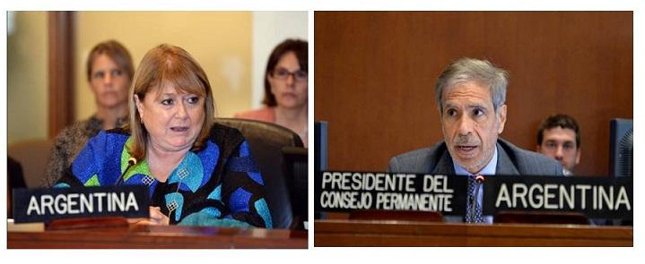 Caracas: la oposición denuncia que Malcorra y Arcuri de Argentina, operan a favor de Maduro en la OEA