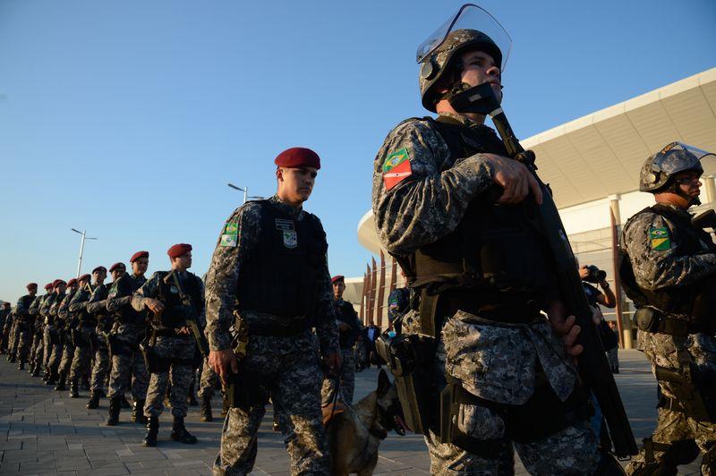 Brasil desplegará 26 mil efectivos de seguridad para los JJ.OO.