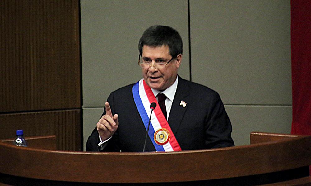 Presidente de Paraguay: 'El mundo es testigo de los abusos sufridos por el pueblo de Venezuela'