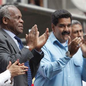 Glover y Maduro (Foto: Correo del Orinoco)