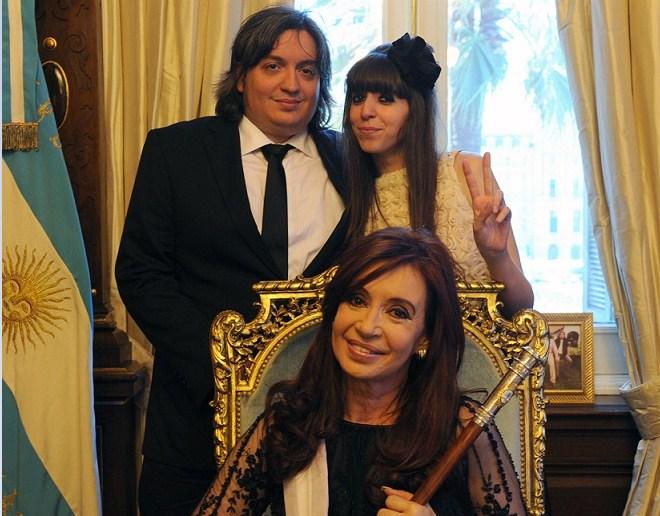 Argentina: Procesaron a Cristina Kirchner y a sus hijos por asociación ilícita y lavado de activos