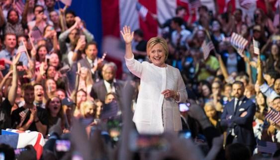 Hillary Clinton elegida candidata a la presidencia de los EEUU por los Demócratas
