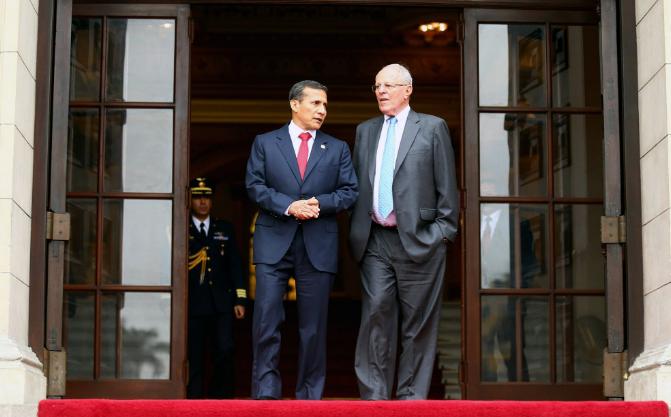 Próximo primer ministro de Perú asegura que no hay 'pacto de impunidad' con Humala