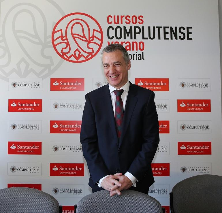 El lehendakari Iñigo Urkullu (Foto Irekia)