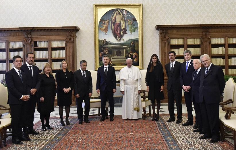 El Papa despeja dudas y asegura que no tiene problemas con Macri