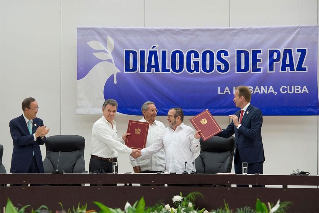 La ONU asegura que estará junto a Colombia al lograrse el acuerdo para la paz