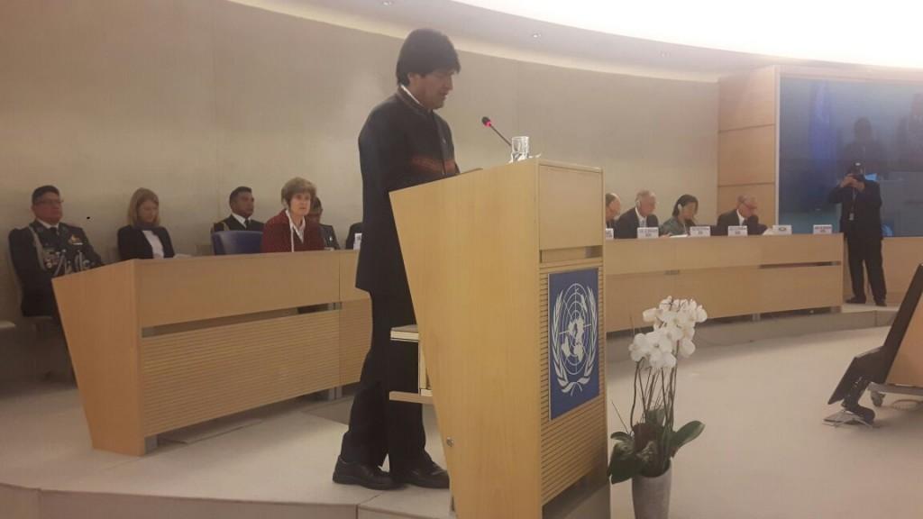 ONU: Evo Morales denuncia a Chile por violación de derechos humanos de bolivianos