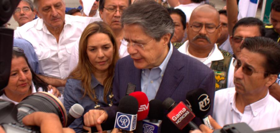 Candidato Guillermo Lasso denuncia: 'En el Ecuador no hay justicia'