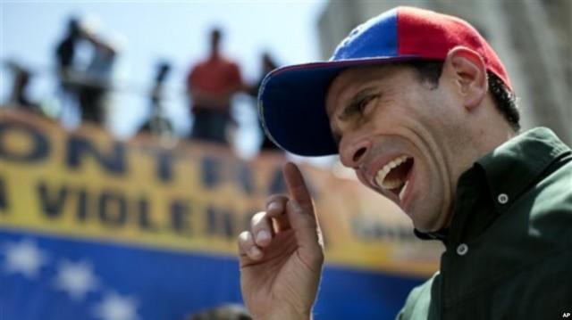 Capriles: 'Si alguien no puede hablar de paz es precisamente Maduro'
